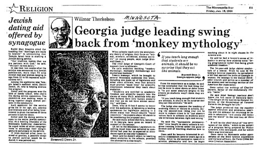 Georgia judge leading swing